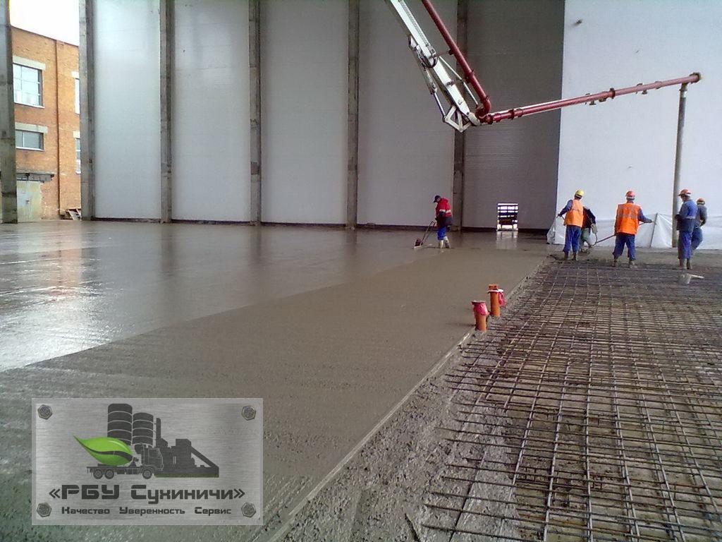 Купить бетон в Сухиничи